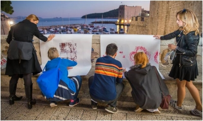 This City Needs Posters! exhibition to show the work of Dubrovnik art students
