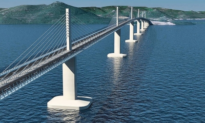 Peljesac Bridge gets fresh start