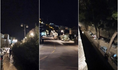 RATIONAL CONSUMPTION - Public lighting in Dubrovnik works with reduced intensity