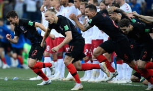 Half of Croatia tunes in to Denmark match