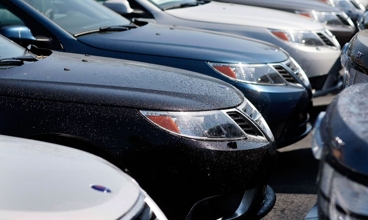 New car sales on the rise
