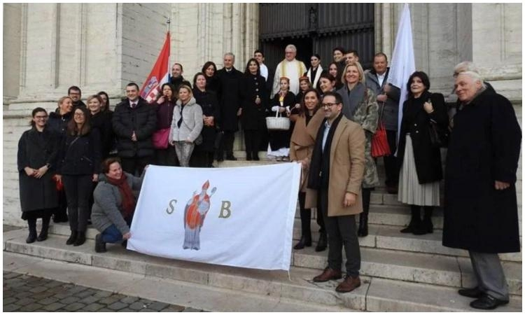 Saint Blaise Festivity held in Brussels