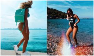 Actress Alessandra Fuller promotes Croatia through Instagram