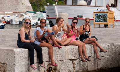 Legends of Dubrovnik - the first Dubrovnik ice-cream