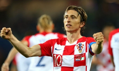 Luka Modric voted the best male athlete of the world for 2018