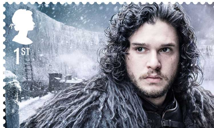 Jon Snow on UK stamp