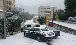 Snow storm brings chaos on Dubrovnik's roads