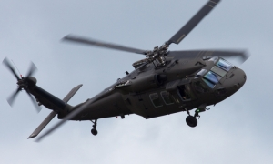 USA donates two Black Hawk helicopters to Croatia