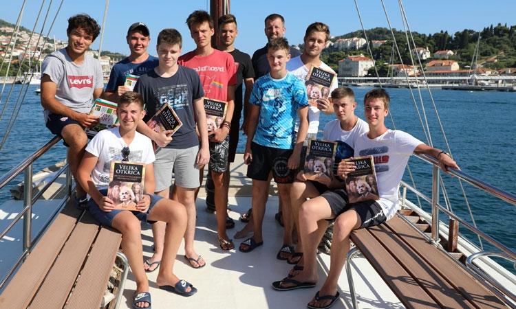 Special day trip for students of Dubrovnik school