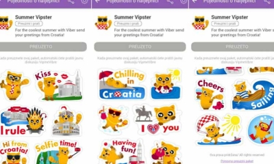 New sticker pack on Viber includes Dubrovnik