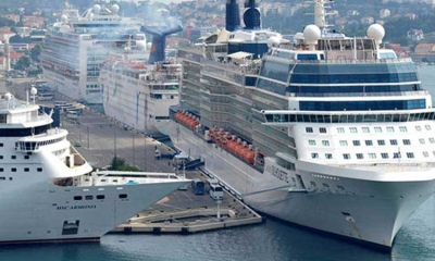 Less cruise ships in 2017