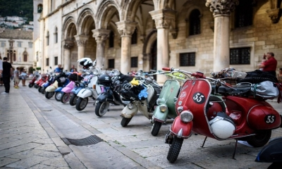 Photo Gallery – Vespa clubs gathering in Dubrovnik