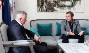 Mayor of Dubrovnik meets with Branko Horvat
