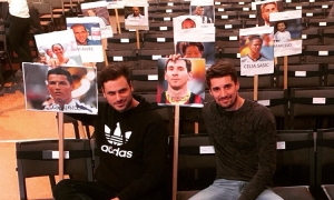 2Cellos thunder through Ballon D'Or