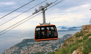 Dubrovnik Cable Car open for business again