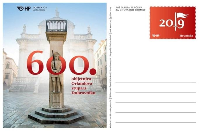 Celebrating 600th anniversary: Orlando gets a postal card