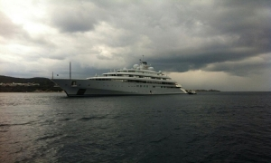 Mega yacht opens cruising season in Dubrovnik in January