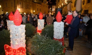 Fourth candle lit in Dubrovnik