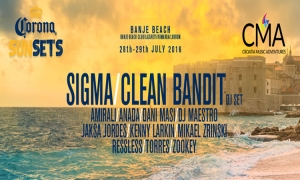 It's time to party: Sigma, Clean Bandit and many more on the iconic Banje Beach