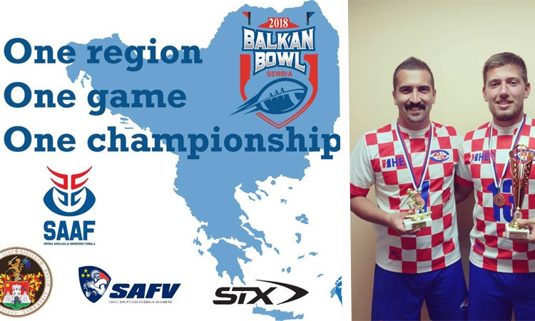 Croatia wins bronze and Dubrovnik MVP in IV Balkan Bowl