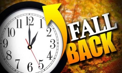 Turn the clocks back this Sunday