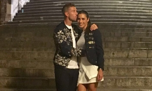 Sergio Ramos and Pilar Rubio in Dubrovnik