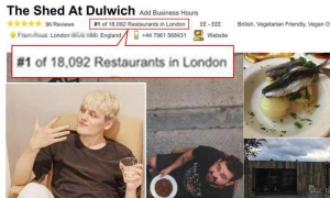 VIDEO – How to become the top rated restaurant on TripAdvisor…even if you don't actually have a restaurant