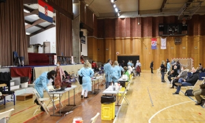Almost 800 residents of Dubrovnik-Neretva County to be vaccinated with AstraZeneca today