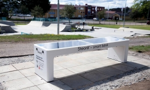 Croatian smart benches conquer Sweden