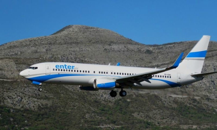 Polish Enter Air adds a new charter line from Austria to Dubrovnik