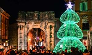 The largest digital Christmas tree in Croatia