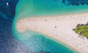 Zlatni Rat – one of the world's best beaches according to Harper's Bazaar