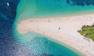 Zlatni Rat – one of the world's best beaches according to Harper's Bazaar