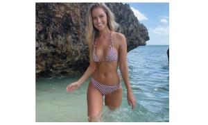 Another Miss Universe Australia winner visits Dubrovnik
