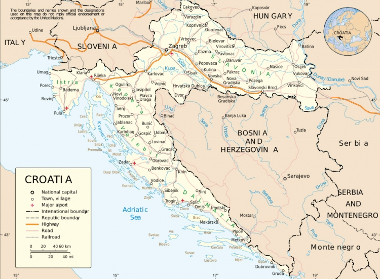 Croatia has been slowly recovering since 2008 – CIA states