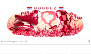 Croatian fans shine on Google