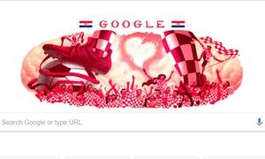 Croatian fans shine on Google