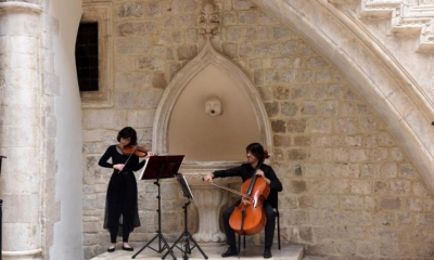 The string chamber ensemble of the Dubrovnik Symphony Orchestra to perform in the Rector's Palace