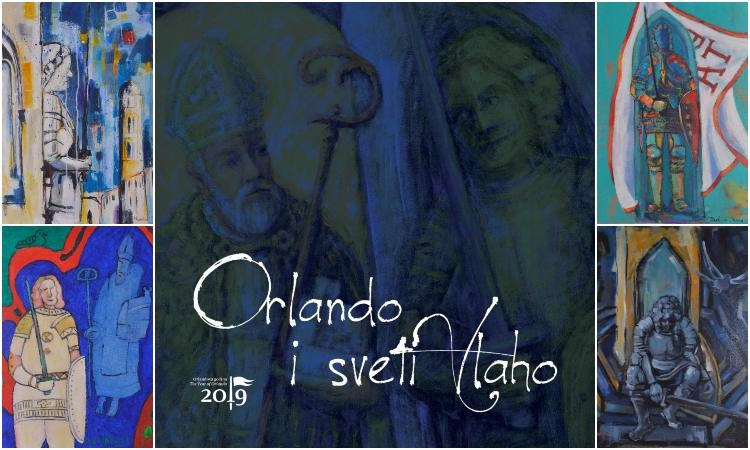 Orlando and Saint Blaise exhibition to show works by the Dubrovnik artists