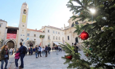 Christmas come to Dubrovnik