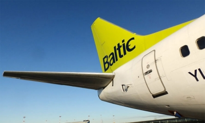 Air Baltic lands at Dubrovnik Airport
