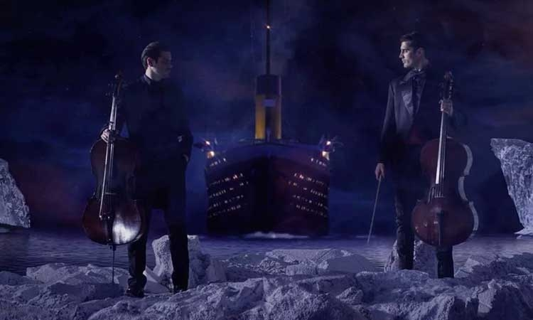 2Cellos take on the Titanic