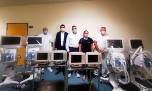 Dubrovnik General Hospital gets four new respirators