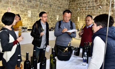 Wine distributors from China at this year's Dubrovnik Festiwine