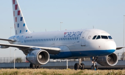 Croatia Airlines flying solo