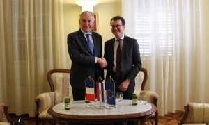 Dobroslavic meets French Ambassador