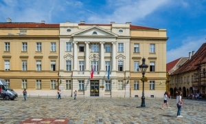 Croatian parliament building in Zagreb