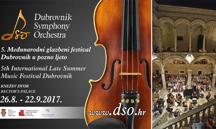 International Late Summer Music Festival in Dubrovnik
