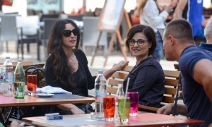 Monica Bellucci in Dubrovnik