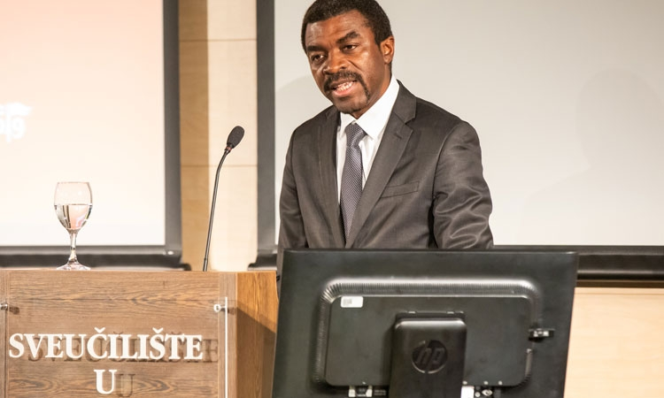 Deputy Director of UNESCO's World Heritage Centre, Lazare Eloundou